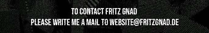 Contact Fritz Gnad
